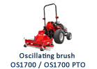 Oscillating brush OS1700 / OS1700 PTO